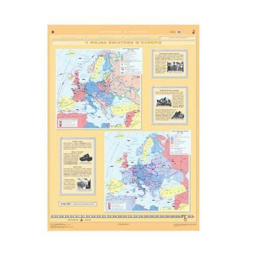 II wojna światowa w Europie / Polska podczas II wojny światowej. Mapa ścienna Europy i Polski, produkt marki Nowa Era
