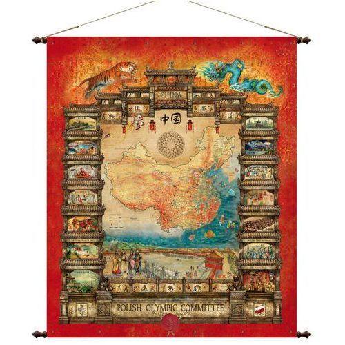 Chiny mapa ścienna 97 x 121 cm , produkt marki Pergamena