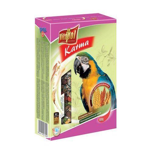 Pokarm pełnowartościowy dla dużych papug 800g, Vitapol