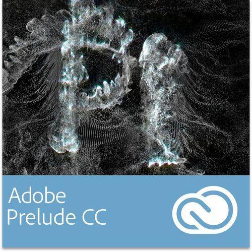 Produkt z kategorii- pozostałe oprogramowanie - Adobe Prelude CC dla Multi European Languages Win/Mac - Subskrypcja (12 m-ce)