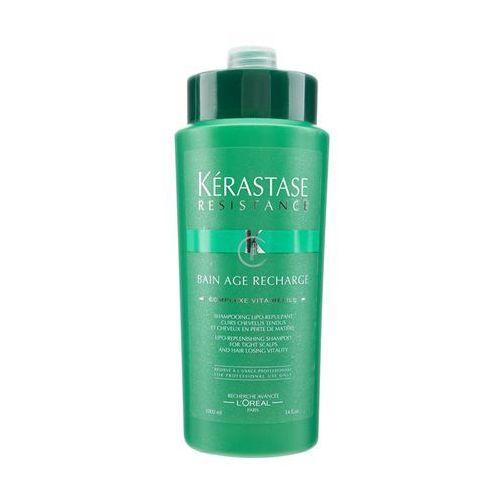 Kerastase RESISTANCE BAIN AGE RECHARGE Kąpiel ujędrniająca do włosów osłabionych działaniem czasu (1000 ml) - produkt z kategorii- odżywki do włosów