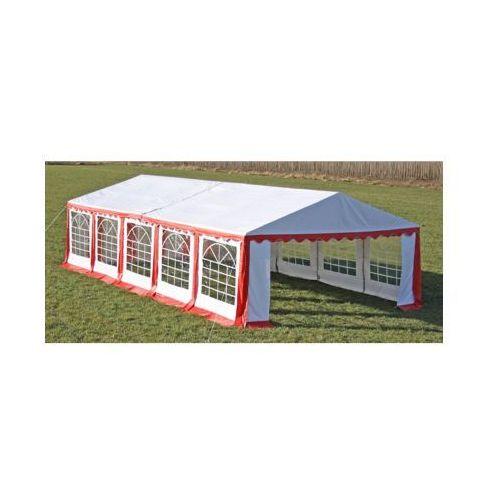 Pawilon ogrodowy 10x5m, czerwony, produkt marki vidaXL