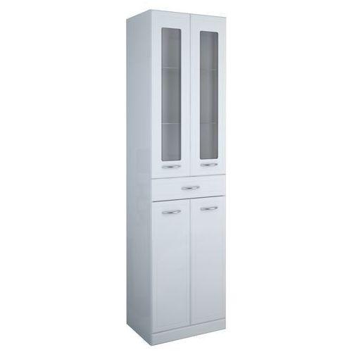 Produkt z kategorii- regały łazienkowe - ELITA AQUA LINE Słupek 50 szkło 164014