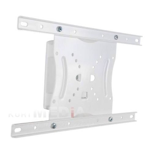 Uchwyt ścienny do lcd 15''-42'' uchylny/obrotowy max.30kg biały od producenta 4world
