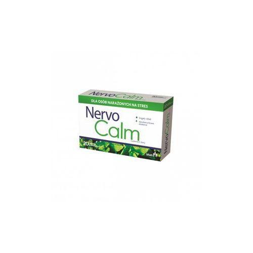 NervoCalm20 tabl., postać leku: tabletki