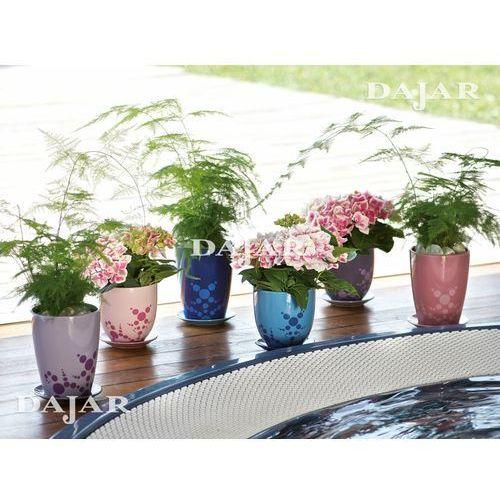 Doniczka podłużna Orchid Lovers Purple 16cm, produkt marki Deroma