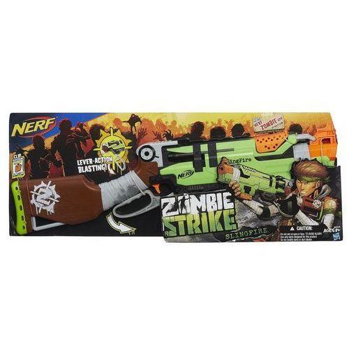 Wyrzutnia HASBRO Nerf Zombie Strike Slingfire A6563 + DARMOWA DOSTAWA oferta ze sklepu ELECTRO.pl