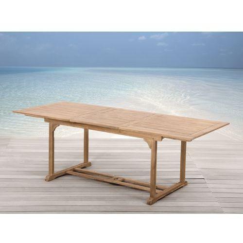 Drewniany stól ogrodowy - rozkladany - kwadratowy - RIVIERA (stół ogrodowy)