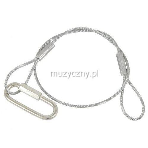 American DJ safety 60cm (10kg) 3mm - linka zabezpieczająca z kategorii oświetlenie
