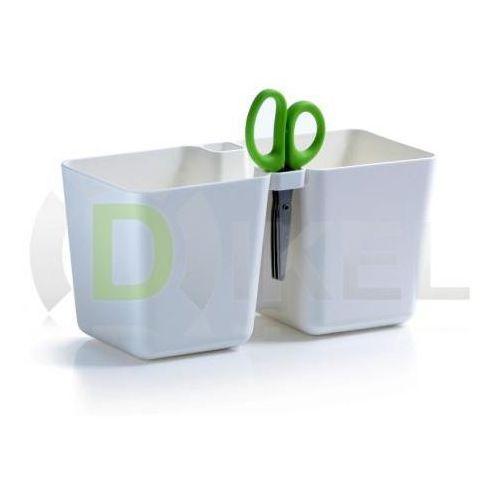 Doniczka TWINS CUBE DTC245, produkt marki Prosperplast