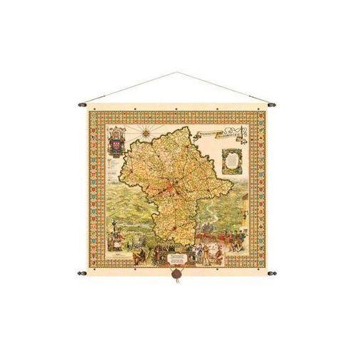Województwo mazowieckie mapa ścienna 97x92 cm , produkt marki Pergamena