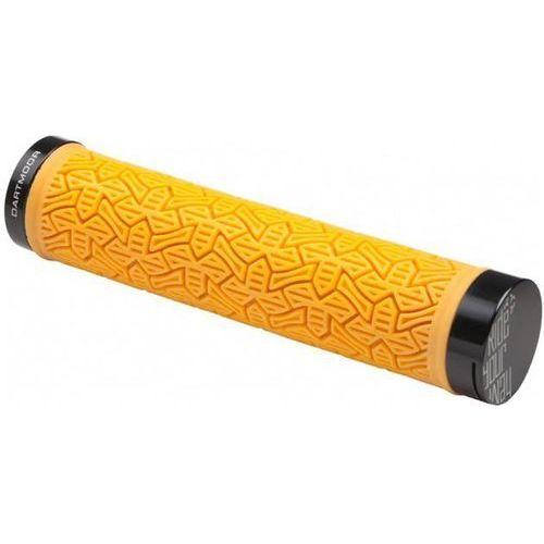 Chwyty kierownicy MTB Icon 145mm, pomarańczowe - oferta [25d0ee088132d532]