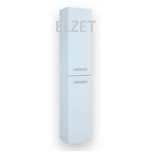 ELITA Kwadro White słupek 2D z drzwiczkami 164590 - produkt z kategorii- regały łazienkowe
