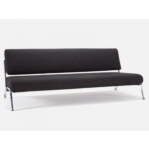 Sofa Debonair czarna 564 nogi chromowane  724030564-724030-0-2, INNOVATION iStyle