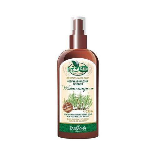 Herbal Care Wzmacniająca odżywka do włosów w sprayu Skrzyp Polny 200ml - produkt z kategorii- odżywki do włosów