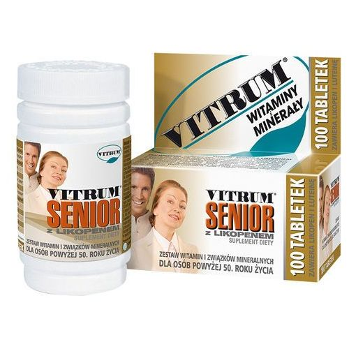 Vitrum Senior z Likopenem, postać leku: tabletki