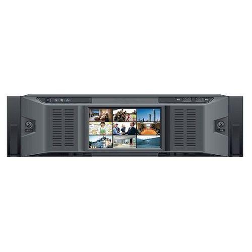 BCS-NVR12816D Rejestrator sieciowy IP, 128 kanałów , 16 HDD SATA, eSata, RAID, HOT-SWAP, USB, LAN, 1VGA, 5HDMI, PTZ, Bitrate 384/384