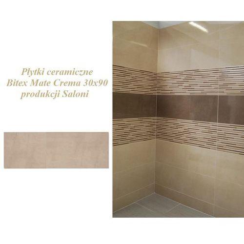 Płytki ceramiczne Bitex Mate Crema 30x90 BLK620 produkcji Saloni (glazura i terakota)