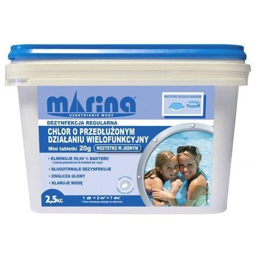 Chlor MARINA o przedłużonym działaniu Tabletki 20g 2.5 kg + DARMOWA DOSTAWA! od ELECTRO.pl