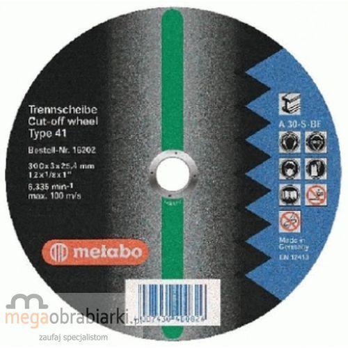 METABO Tarcza tnąca do stali 400 mm (10 szt) Flexiamant Super A 30-S RATY 0,5% NA CAŁY ASORTYMENT DZWOŃ 77 415 31 82 ze sklepu Megaobrabiarki - zaufaj specjalistom