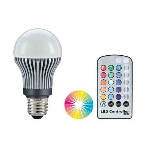LED AGL 5x1W RGB E27 z pilotem z kategorii oświetlenie