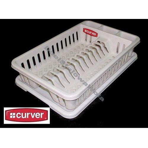 CURVER suszarka ociekacz do naczyń i sztućce 265x420x88h - produkt z kategorii- suszarki do naczyń