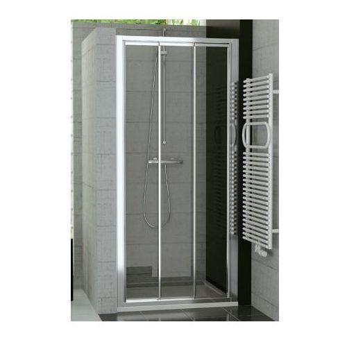 SANSWISS TOP LINE Drzwi przesuwane trzyczęściowe 75 TOPS307505007 (drzwi prysznicowe)