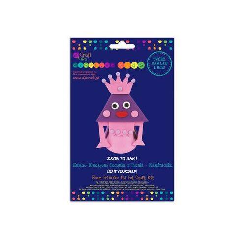 Zestaw kreatywny pacynka z pianki Księżniczki - Dostawa Gratis, szczegóły zobacz w sklepie (pacynka, kukie