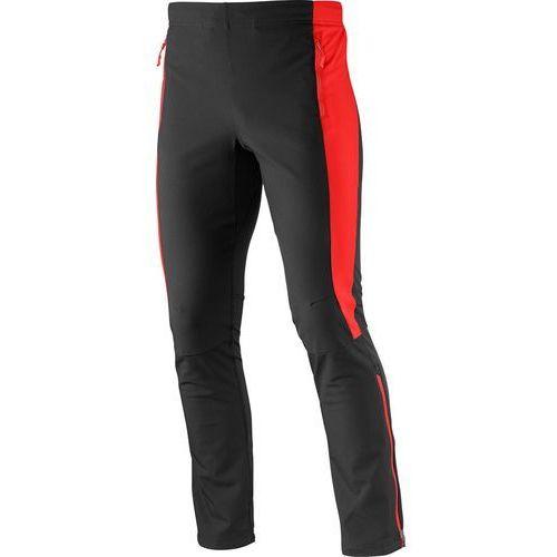 Produkt z kategorii- spodnie męskie - Spodnie Momentum Softshell BlackRed