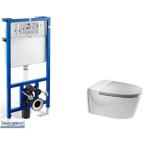 Produkt z kategorii- pozostałe artykuły hydrauliczne - Zestaw podtynkowy PRO + miska WC podwieszana Khroma R