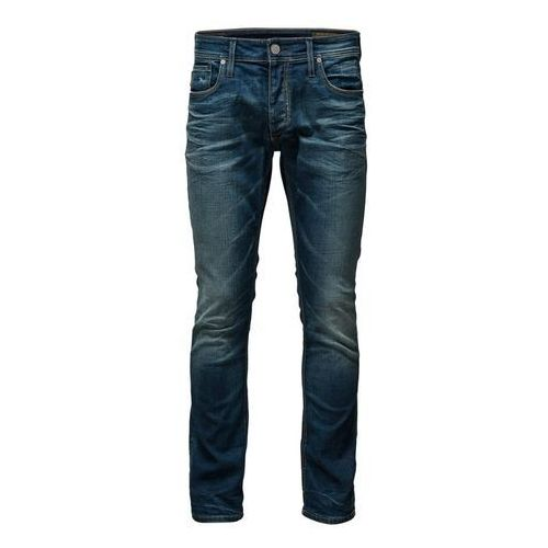 Jack & Jones CLARK ORIGINAL BL 146 Jeansy Straight leg washed - produkt z kategorii- spodnie męskie