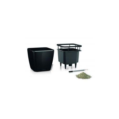 Produkt Donica -  - Quadro LS 28 - czarna połysk, marki Lechuza