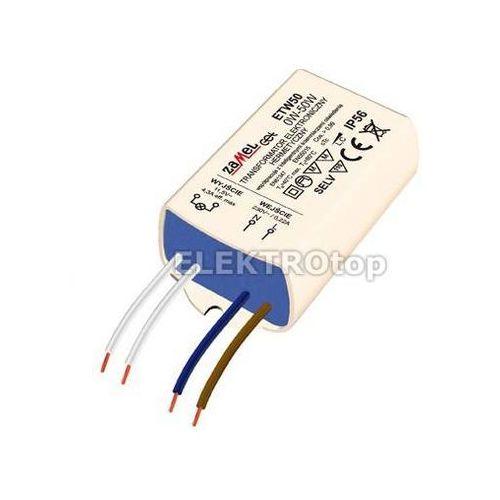 Transformator elektroniczny zalewany 230/11,5V 0-50W TYP: ETW50 z kategorii Transformatory