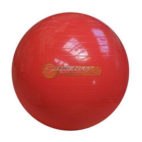 Produkt PIŁKA GIMNASTYCZNA AXER 65cm czerwona A2028, marki Axer sport