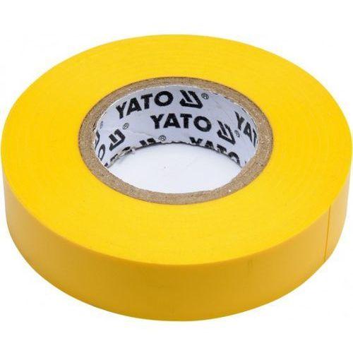 Taśma elektroizolacyjna 15mmx20mx0,13mm; żółta / SZYBKA WYSYŁKA / BEZPŁATNY ODBIÓR: WROCŁAW, kup u jednego z partnerów