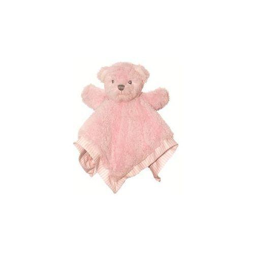 Miś Pacynka różowy kocyk (pacynka, kukiełka)