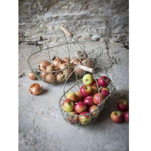 Druciany Kosz Agrestowa Zieleń Mały, produkt marki Garden Trading