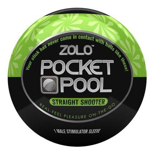 Masturbator podręczny - Zolo Pocket Pool Straight Shooter - oferta [253bea0ff1526470]