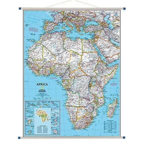 Afryka. Mapa ścienna polityczna Classic 1:9,3 mln wyd. , produkt marki National Geographic