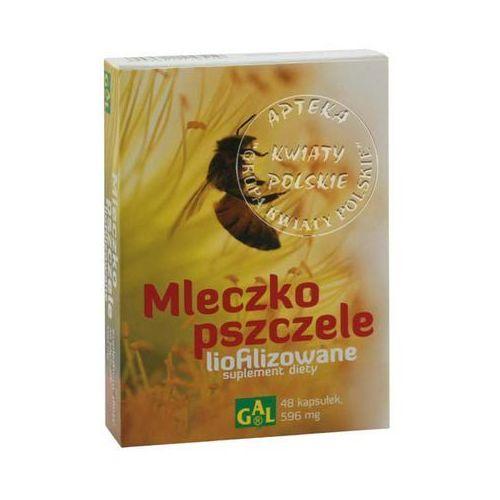 MLECZKO PSZCZELE LIOFILIZOWANE 48 kaps., postać leku: kapsułki
