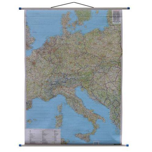 Europa Środkowa mapa ścienna samochodowa 1:2 000 000 Freytag Berndt, produkt marki Freytag&Berndt