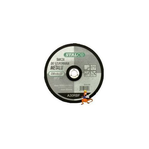Oferta TARCZA DO SZLIFOWANIA METALU 180x6, 0x22MM FIRMA STALCO (S-61180)