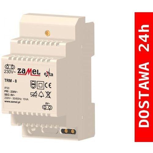 Artykuł TRM-8 Transformator dzwonkowy 230/8V AC 15VA z kategorii transformatory