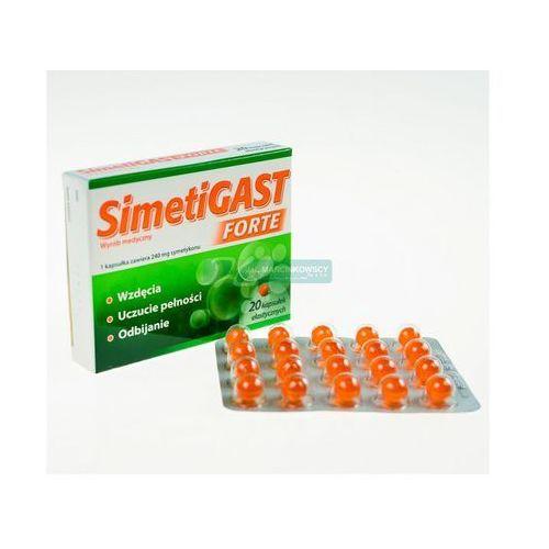 Simetigast forte x 20 kaps - produkt farmaceutyczny