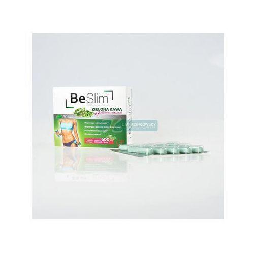 Be Slim zielona kawa tabletki powlekane 30 sztuk, postać leku: tabletki