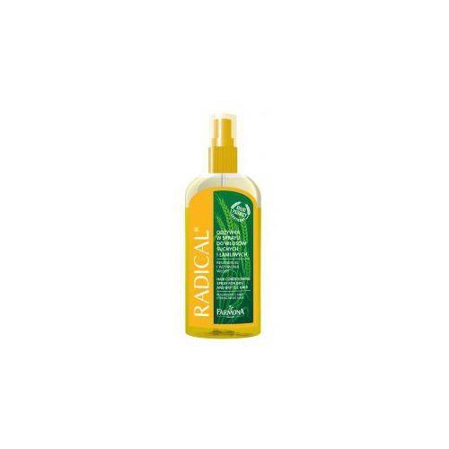 Produkt z kategorii- odżywki do włosów - Radical Odżywka w sprayu do włosów suchych i łamliwych 200ml FARMONA