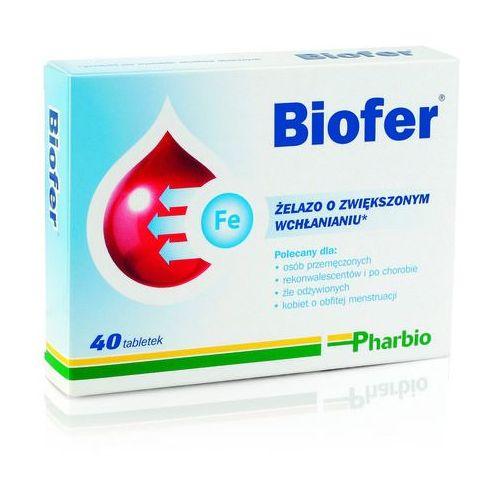 Biofer x 40 tabl., postać leku: tabletki