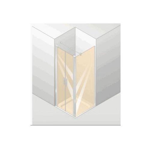 HUPPE DESIGN ELEGANCE 4-kąt , drzwi wahadłowe do ścianki bocznej 8E1401 (drzwi prysznicowe)