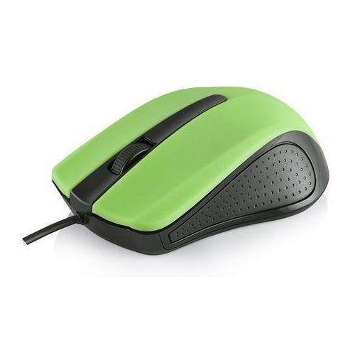 PRZEWODOWA MYSZ OPTYCZNA MODECOM M9 GREEN z kategorii Myszy, trackballe i wskaźniki