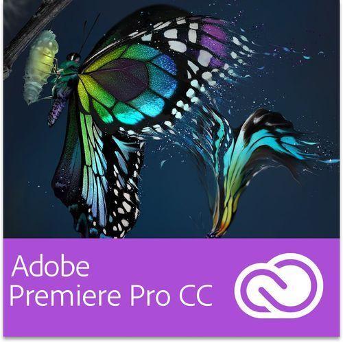 Adobe Premiere Pro CC GOV for Teams Multi European Languages Win/Mac - Subskrypcja (12 m-ce) - produkt z kategorii- Pozostałe oprogramowanie